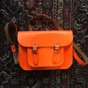 Orange satchel